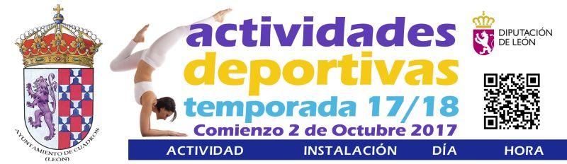 Actividades deportivas en Cuadros, Lorenzana y Santibañez