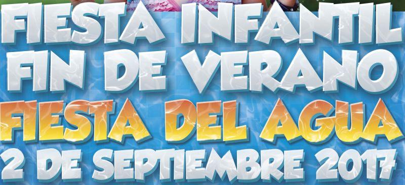 Fiesta infantil Fin del Verano, Fiesta del Agua en el Casino de León, el sábado 2 de septiembre