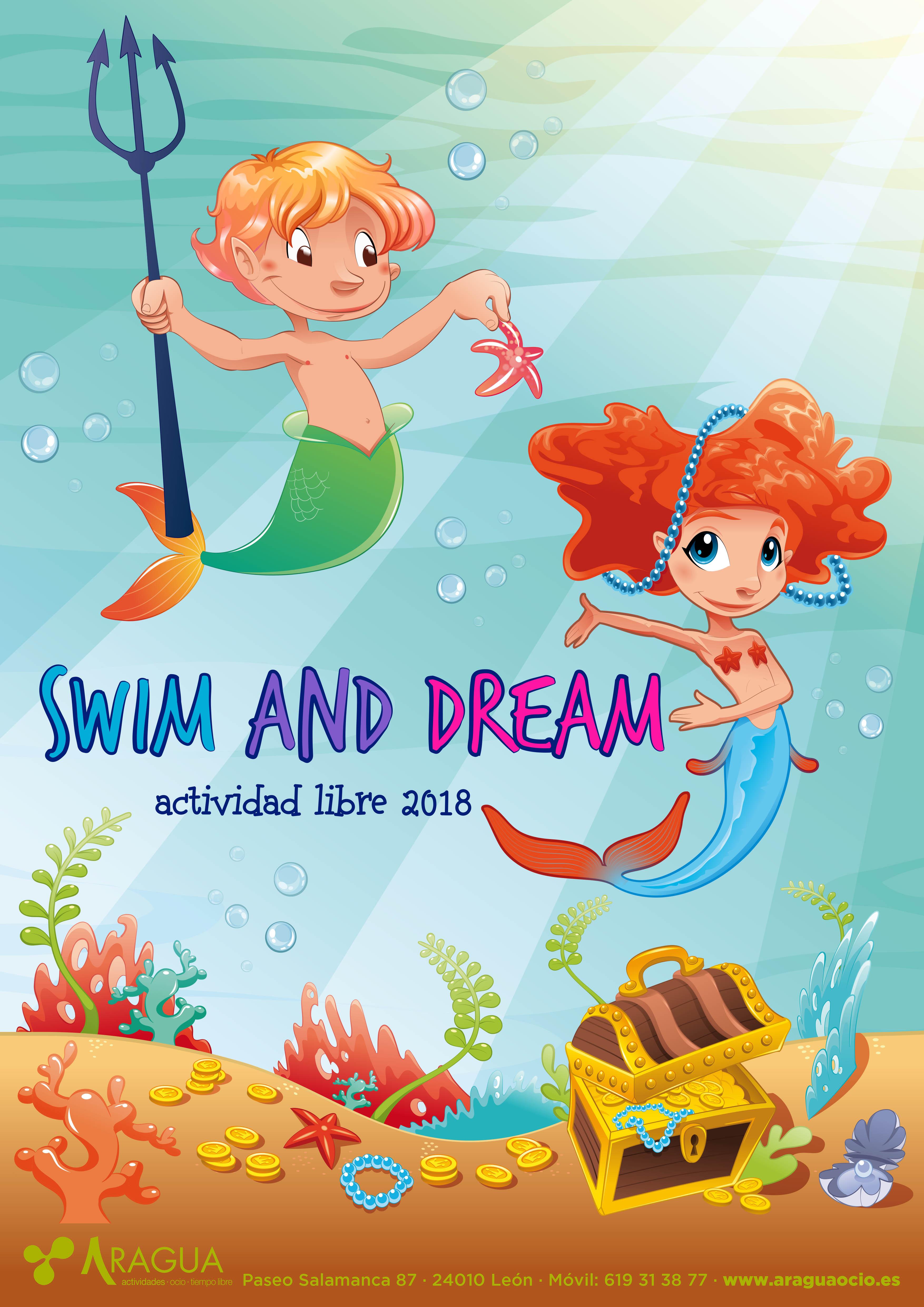 Actividades Verano 2018. Swim and Dream