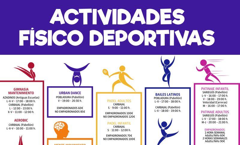 Actividades Deportivas Otoño en Azadinos, Carbajal, Pobladura y Sariegos