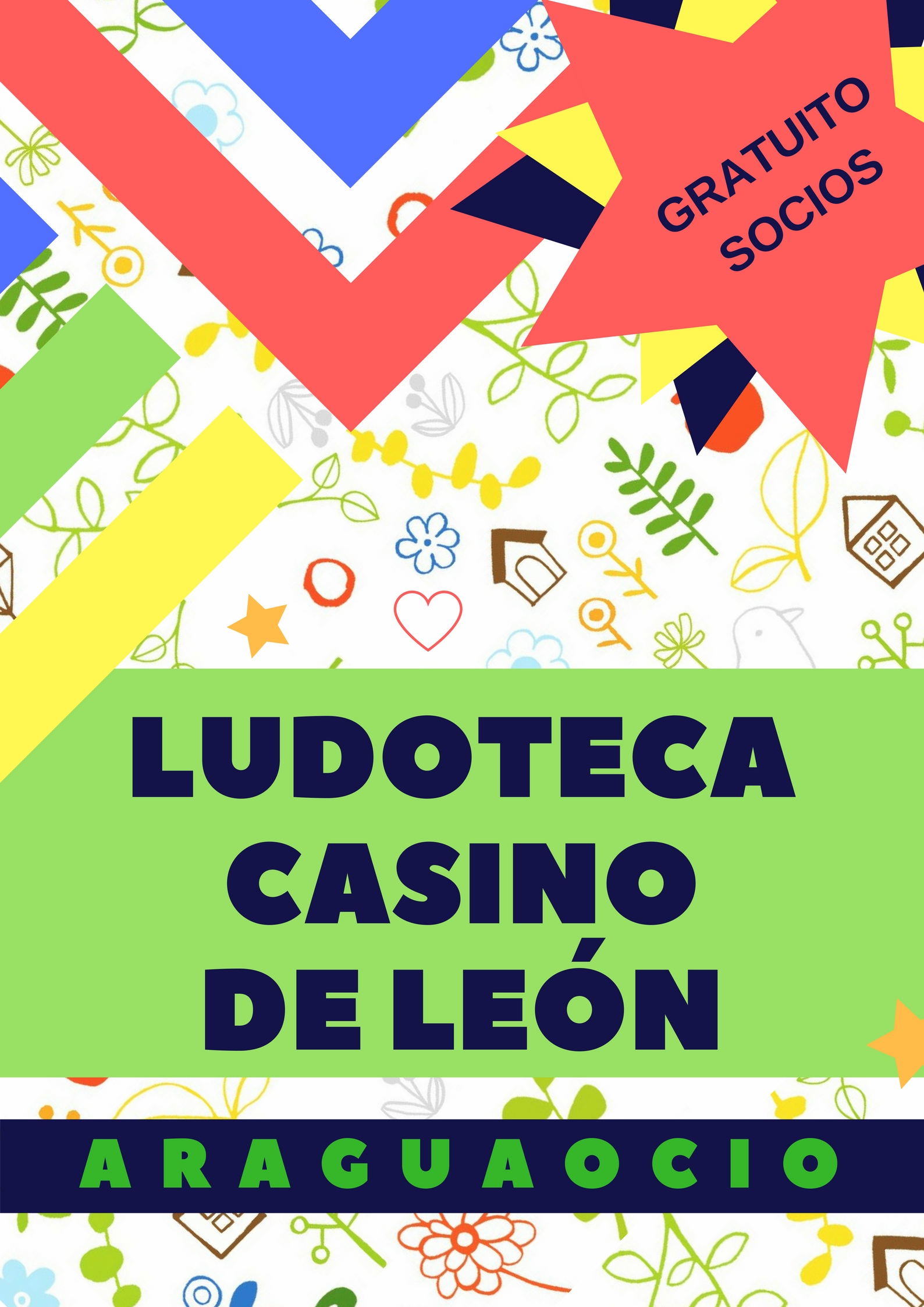 Ludoteca Infantil Anual de Casino Club Peñalba León