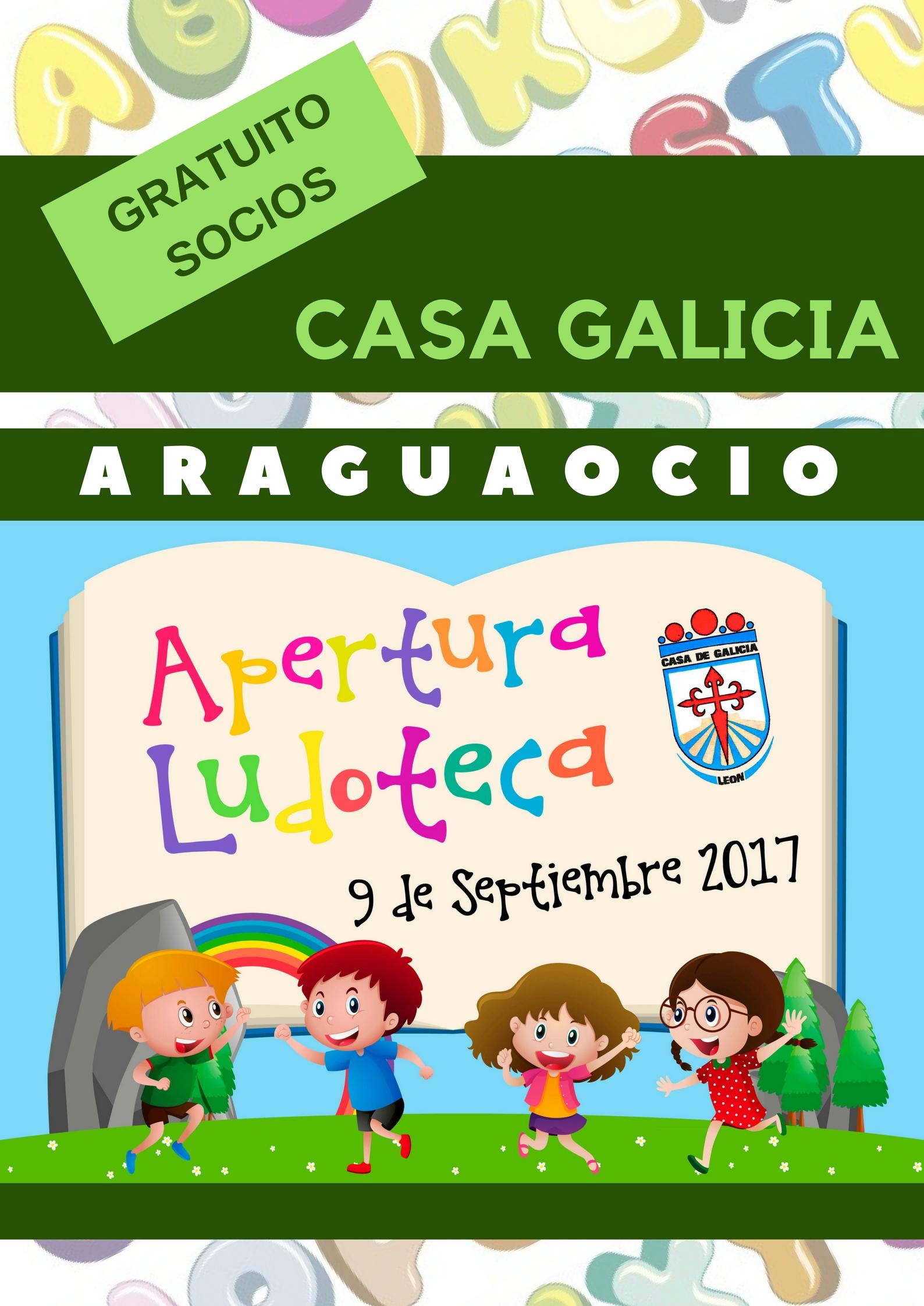 Ludoteca Infantil Anual de Casa Galicia de León
