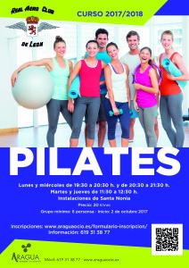 2016-2017 Cartel Actividades Deportivas AERO Sta Nonia Pilates