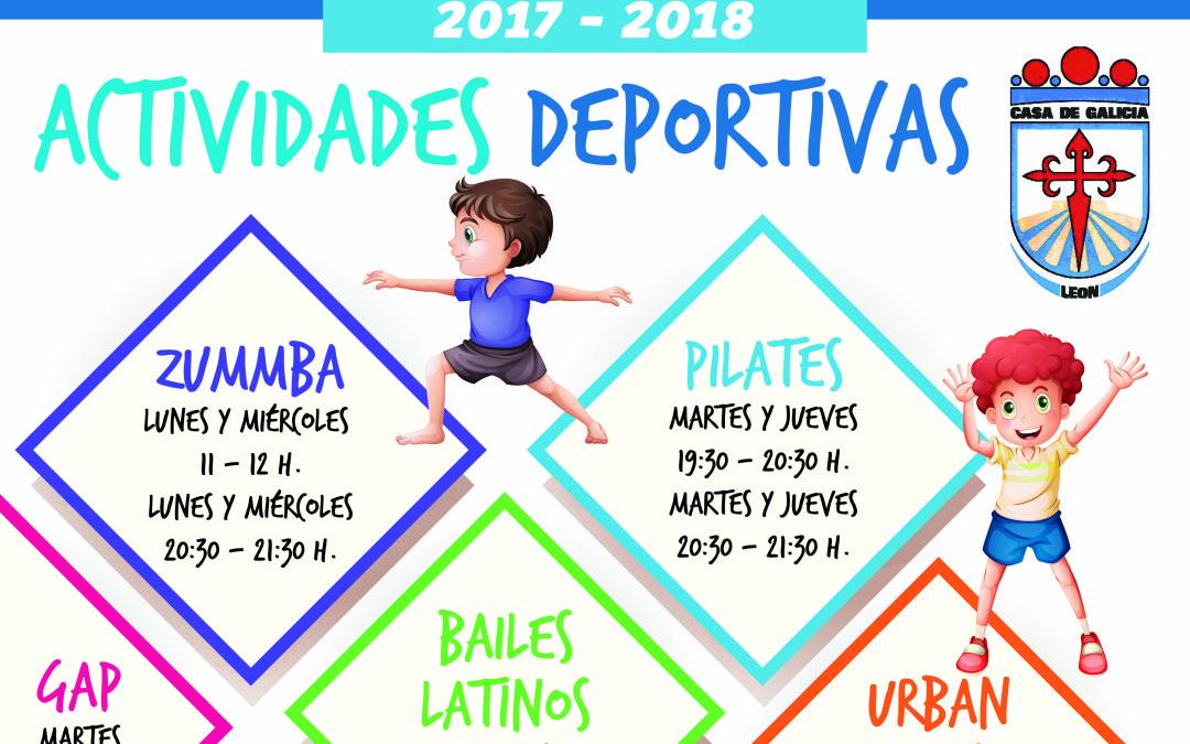 Actividades Deportivas en Casa Galicia