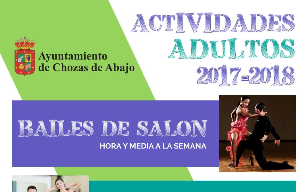 Actividades deportivas en el Ayuntamiento de Chozas de Abajo