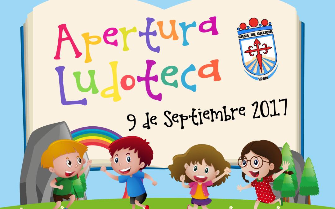 Fiesta infantil Apertura de la Ludoteca de Casa Galicia, el sábado 9 de septiembre