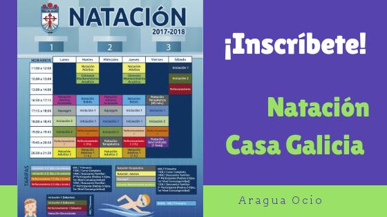 Cursos de Natación en Casa Galicia