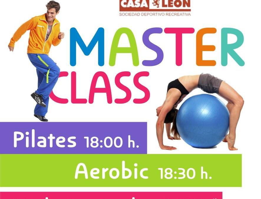 Presentación de las Actividades Deportivas en Casa León