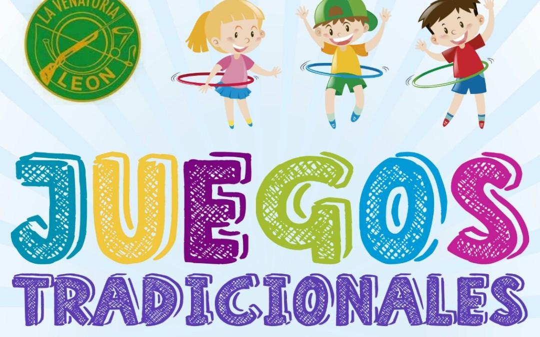 Juegos Tradicionales Infantiles en la Venatoria, el jueves 5 de octubre
