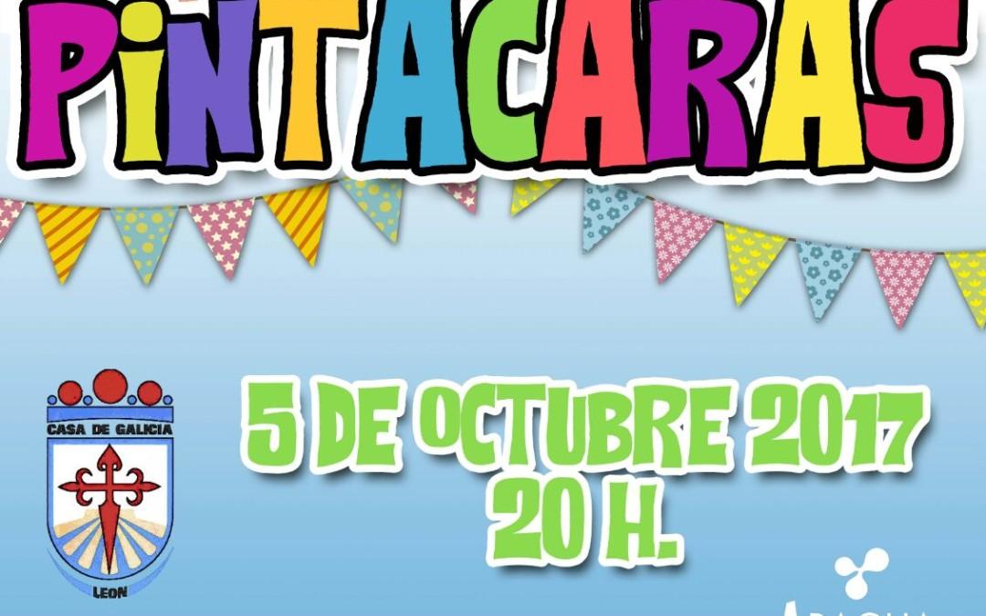 Pintacaras Infantil en Casa Galicia, el jueves 5 de octubre