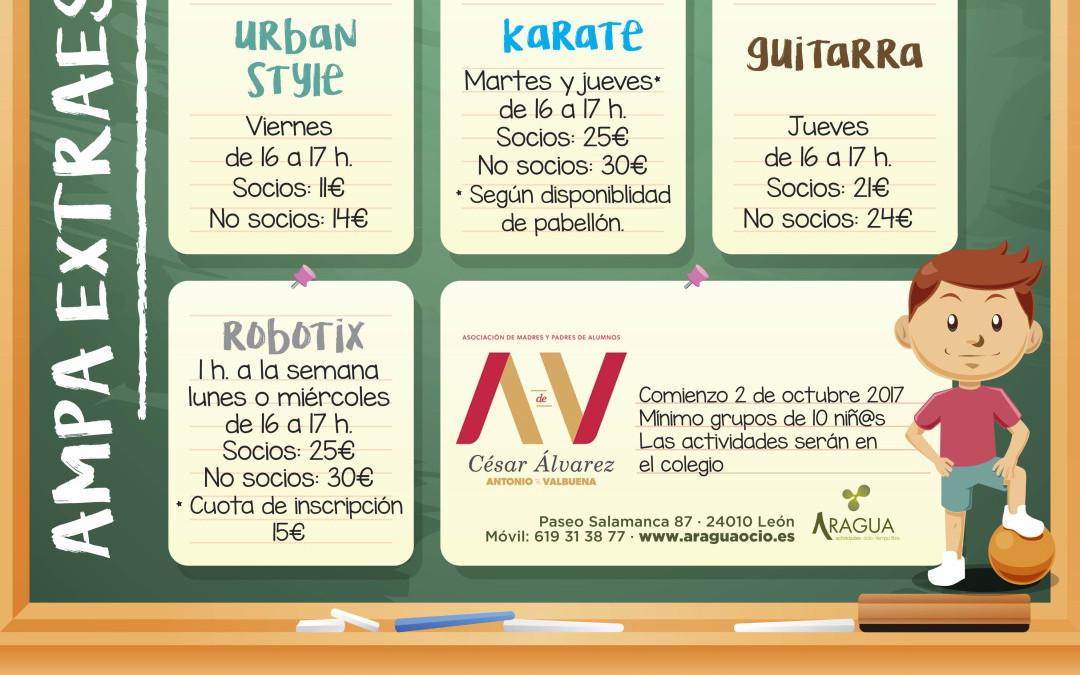 Actividades Extraescolares en el Colegio Antonio Valbuena