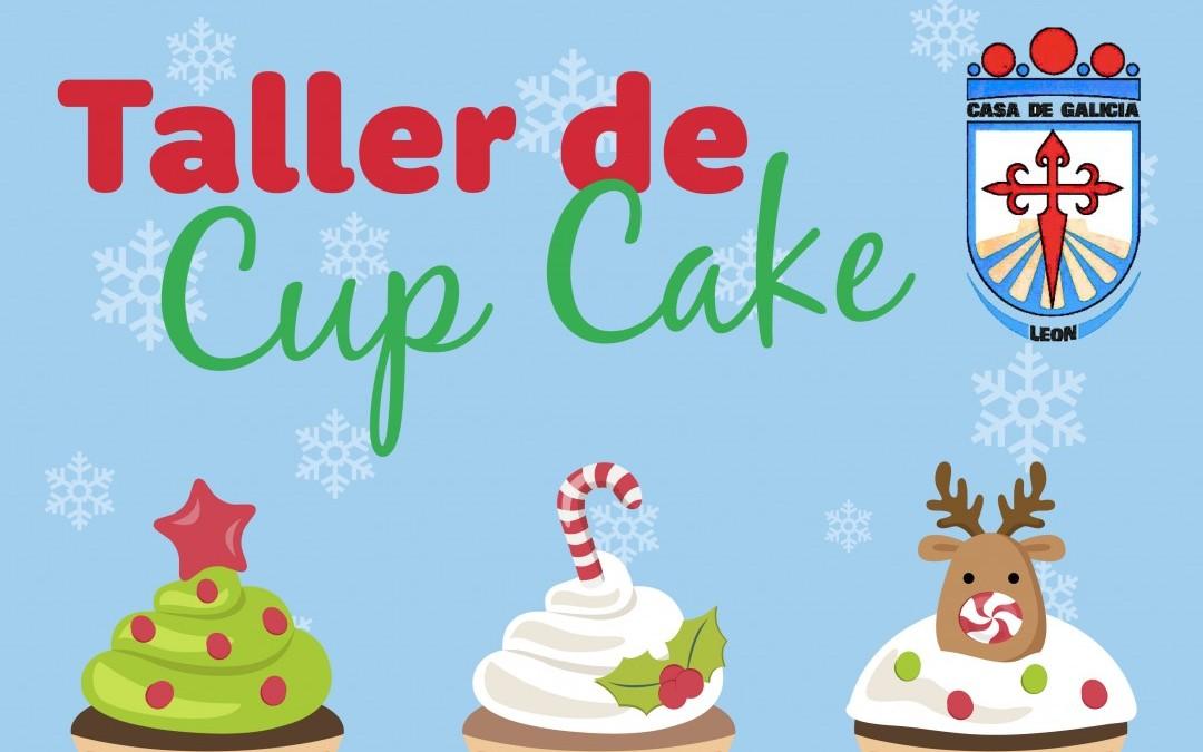 Taller de Cup Cakes Navideños en Casa Galicia, 22 de diciembre