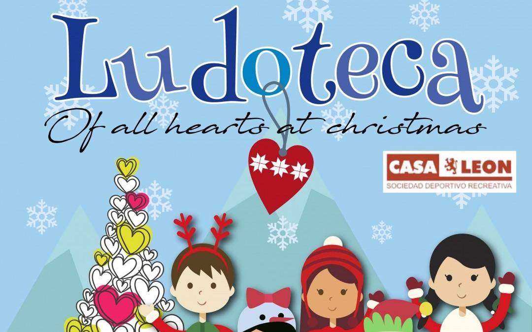 Ludoteca de Navidad en Casa León