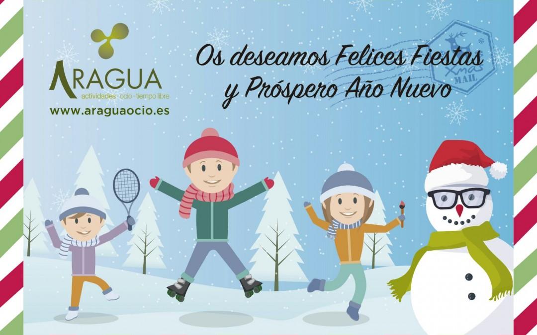 Os deseamos Feliz Navidad y Próspero Año Nuevo
