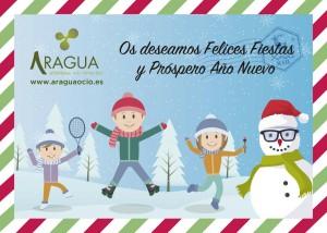 ARAGUA Felicitacion Navidad