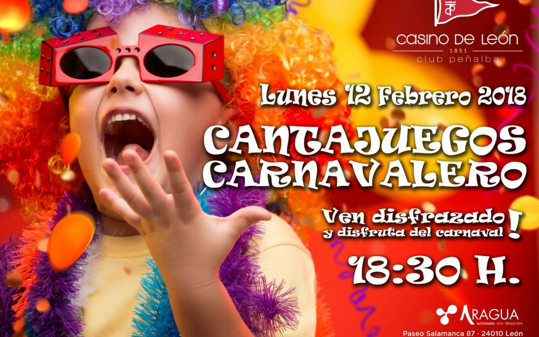 Carnaval, carnaval, carnaval bailaleroooo en el Casino de León