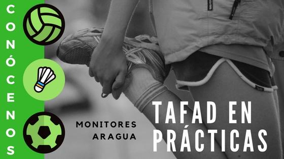Conoce a nuestros compañeros de Tafad en prácticas con Aragua.