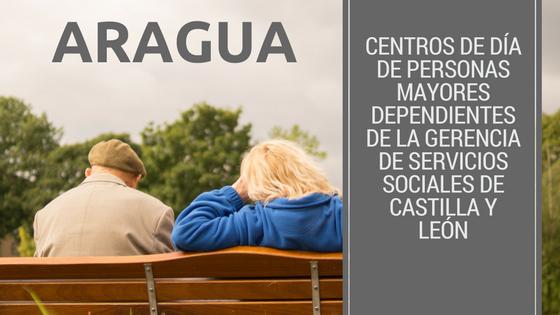 Centros de Día de personas mayores dependientes de la Gerencia de Servicios Sociales de Castilla y León