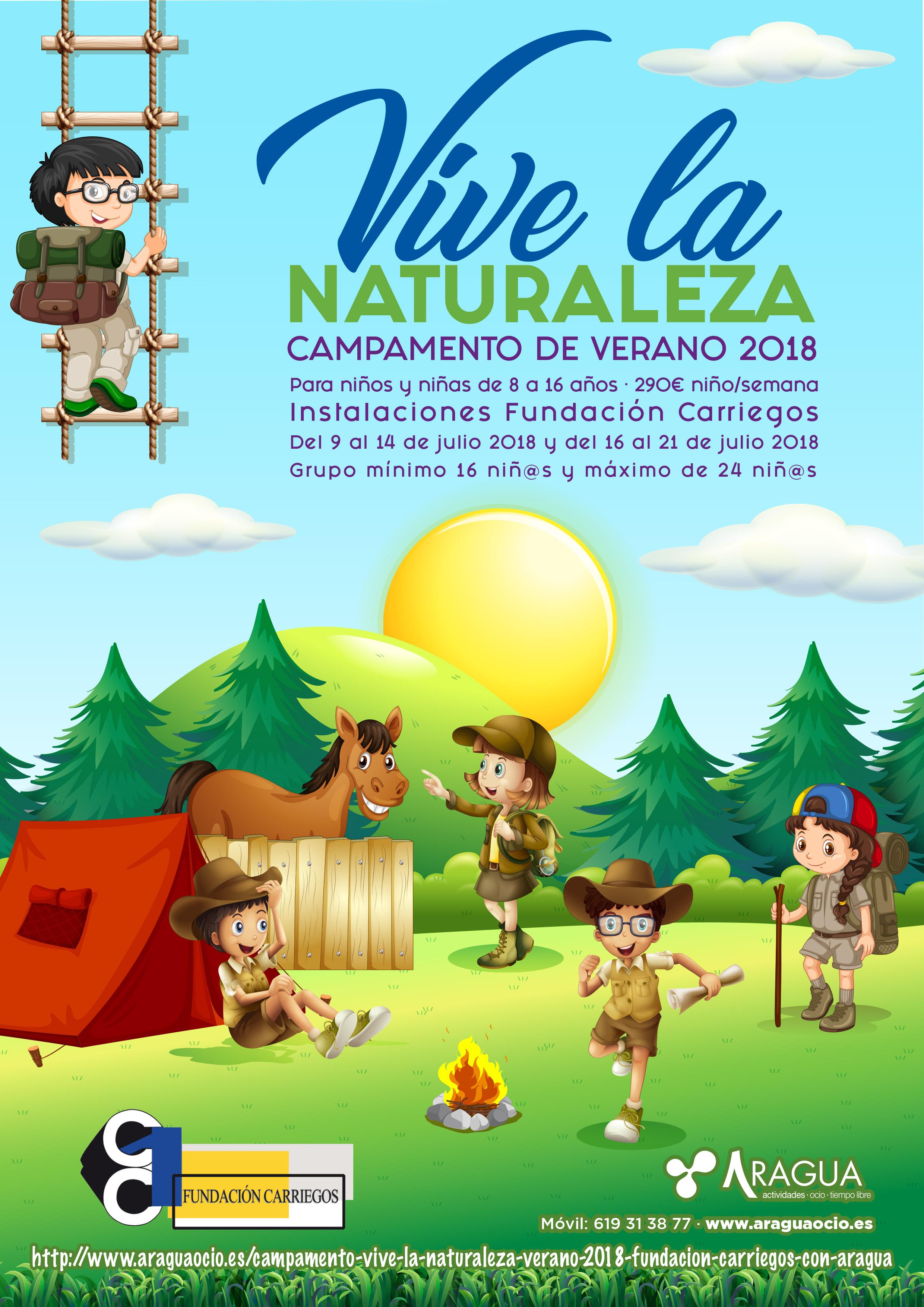 Campamento Verano 2018 Carriegos