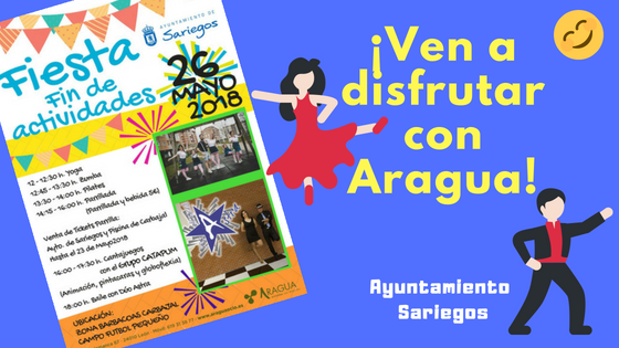 Fiesta de Fin de las Actividades Deportivas del Ayuntamiento de Sariegos.