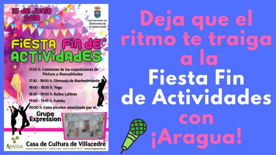 Fiesta de las Actividades Deportivas en  el Ayto. de Santovenia.