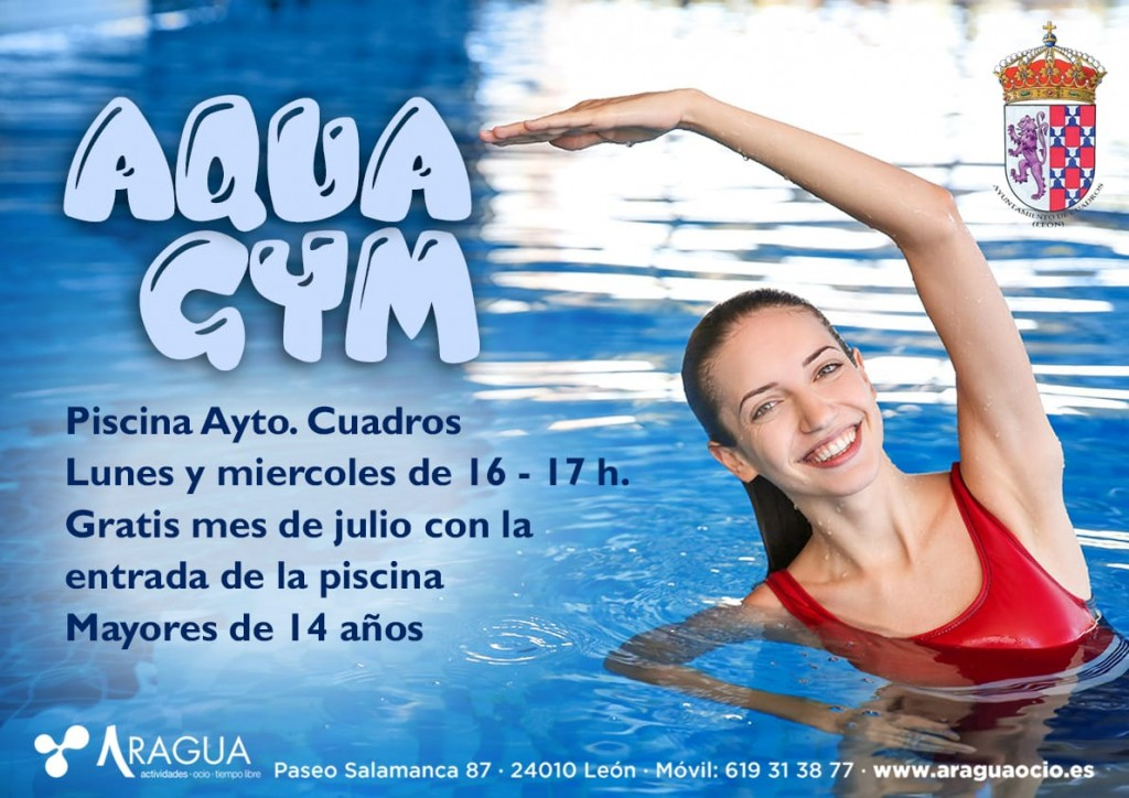 Cartel Cuadros Aquagym