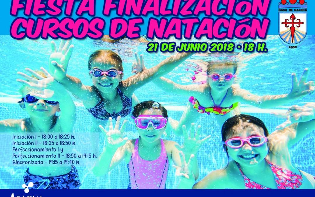 Fiesta Fin de Curso. Natación en Casa Galicia.