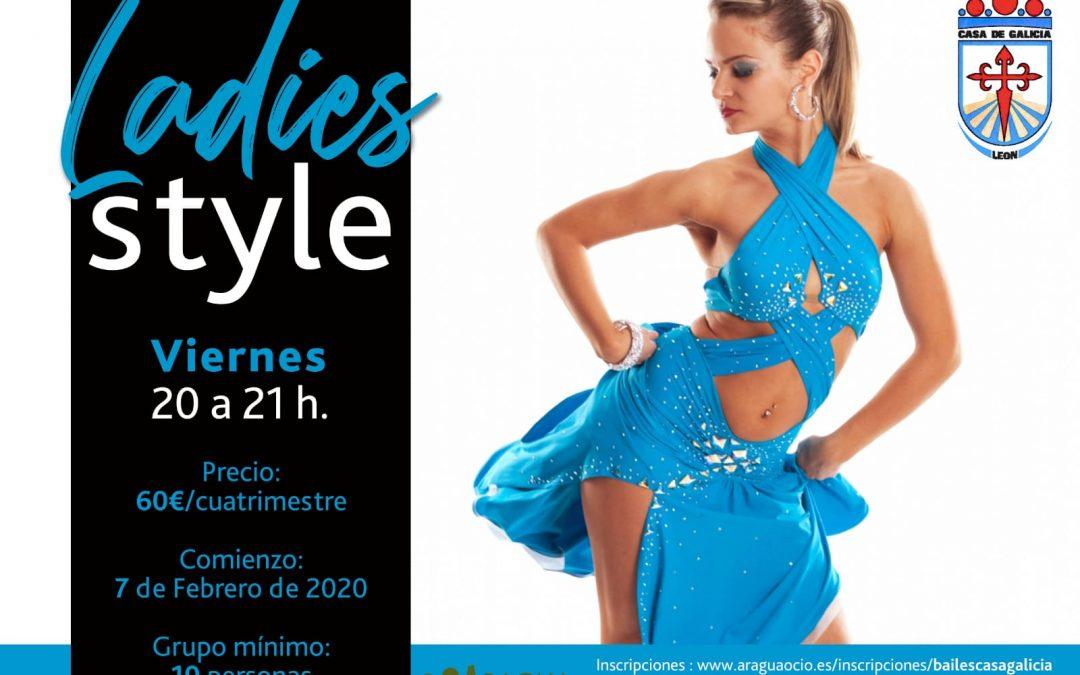 Técnica Latina para el Baile Ladies Style – Casa Galicia