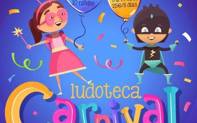 Participa en nuestros Ludotecas Carnival Rhytmhs – Ritmos de Carnaval Febrero 2020