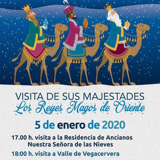Visita de los Reyes Magos a Vegacervera y Coladilla