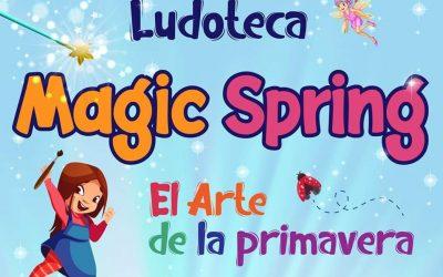 La Primavera está en la puerta de Aragua. Ludoteca Magic Spring – El Arte de la Primavera